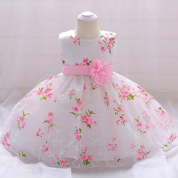 Baby Girl Dress  Baptism Newborn Girl Wedding
