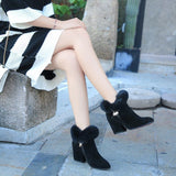 Ankle Boots Ladies 2020 Fashion Style