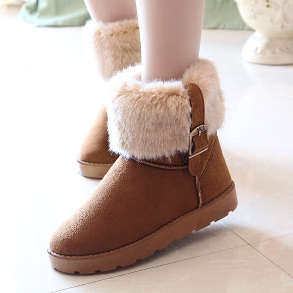Women Snow Boots Ladies Casual .