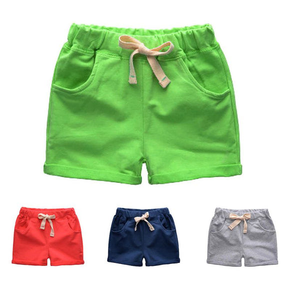 Short Pants For Boy Loose Mid Waist Casual