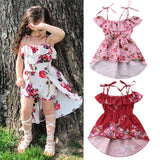 Baby Girls Floral Dress Off Shoulder
