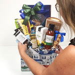 A professional and experienced designers creating the perfect housewarming gift basket just for your recipient.
