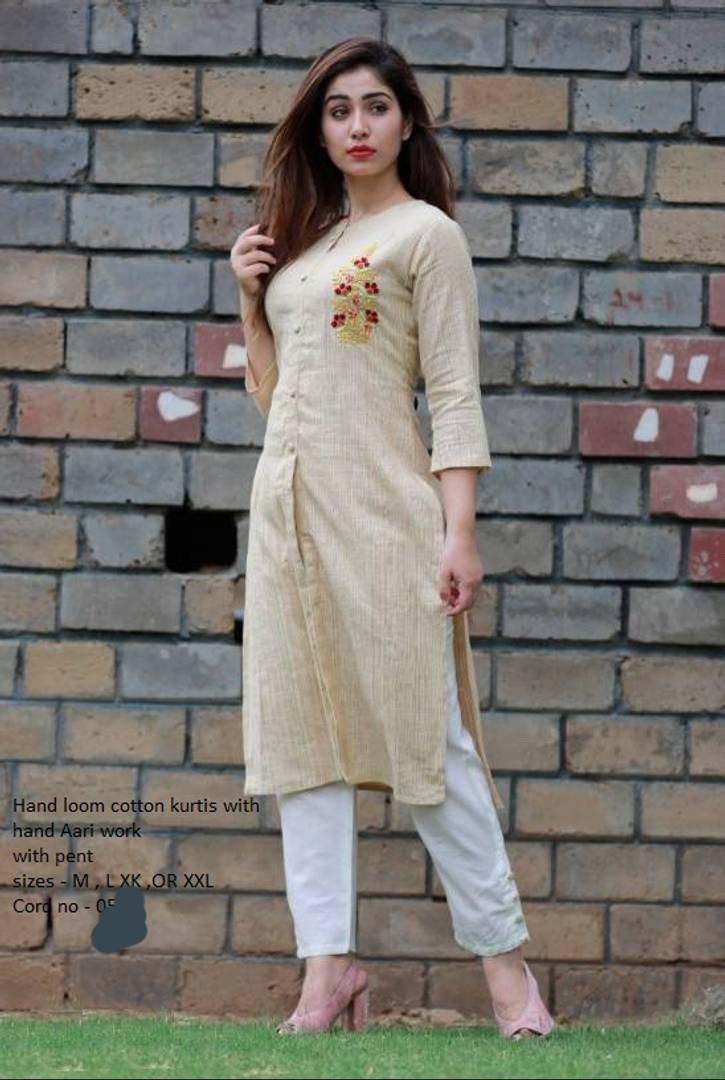 Alluring Cotton Kurti With Palazzo For Women's