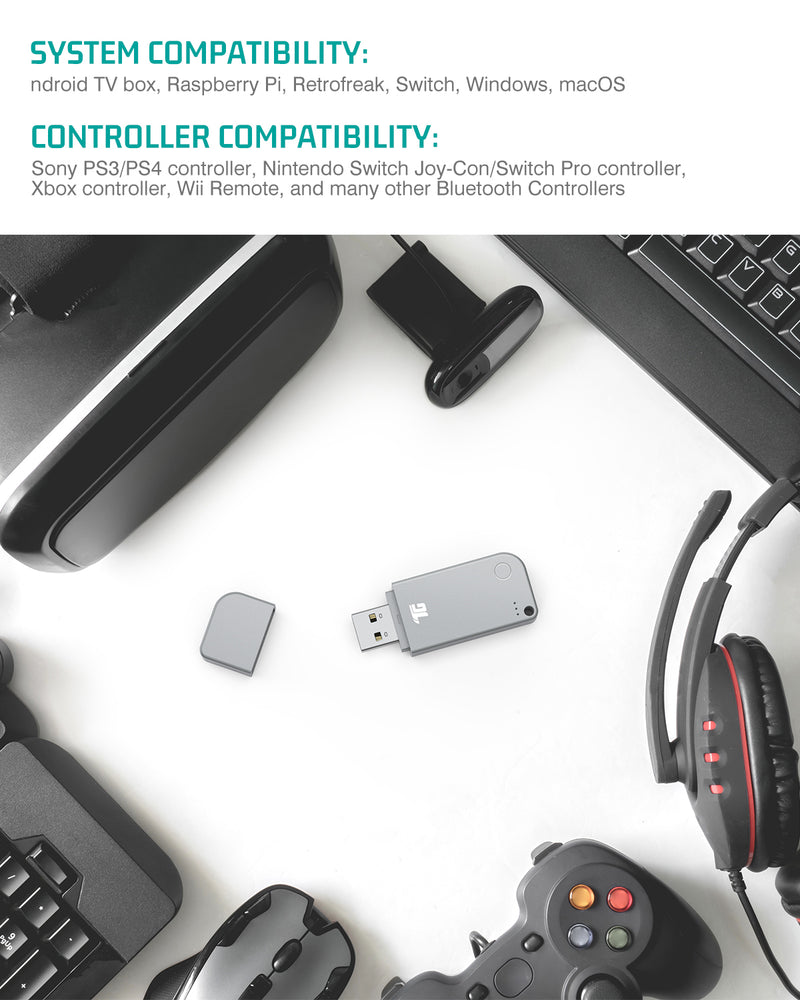 Tiergrade Wireless Controller Adapter
