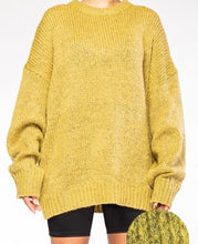 Load image into Gallery viewer, Mohair Heather Yarn Knit Sweater