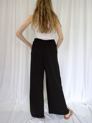 Jaclyn M Brielle Pant-Black - Trio Boutique Geraldine