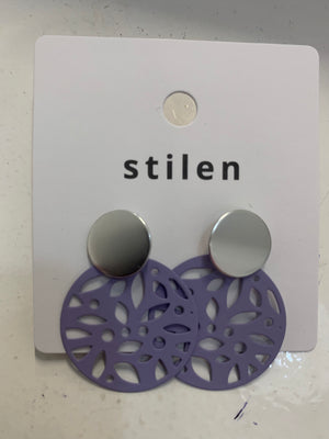 Stilen Maddi Plum Earrings