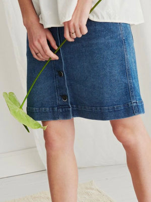 Noa Noa Denim Skirt - Trio Boutique Geraldine