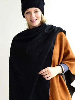 Archer House Black Scarf - Trio Boutique Geraldine