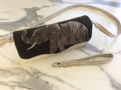 custom order elephant purse front