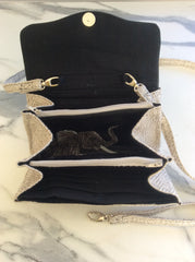 custom order elephant purse interior