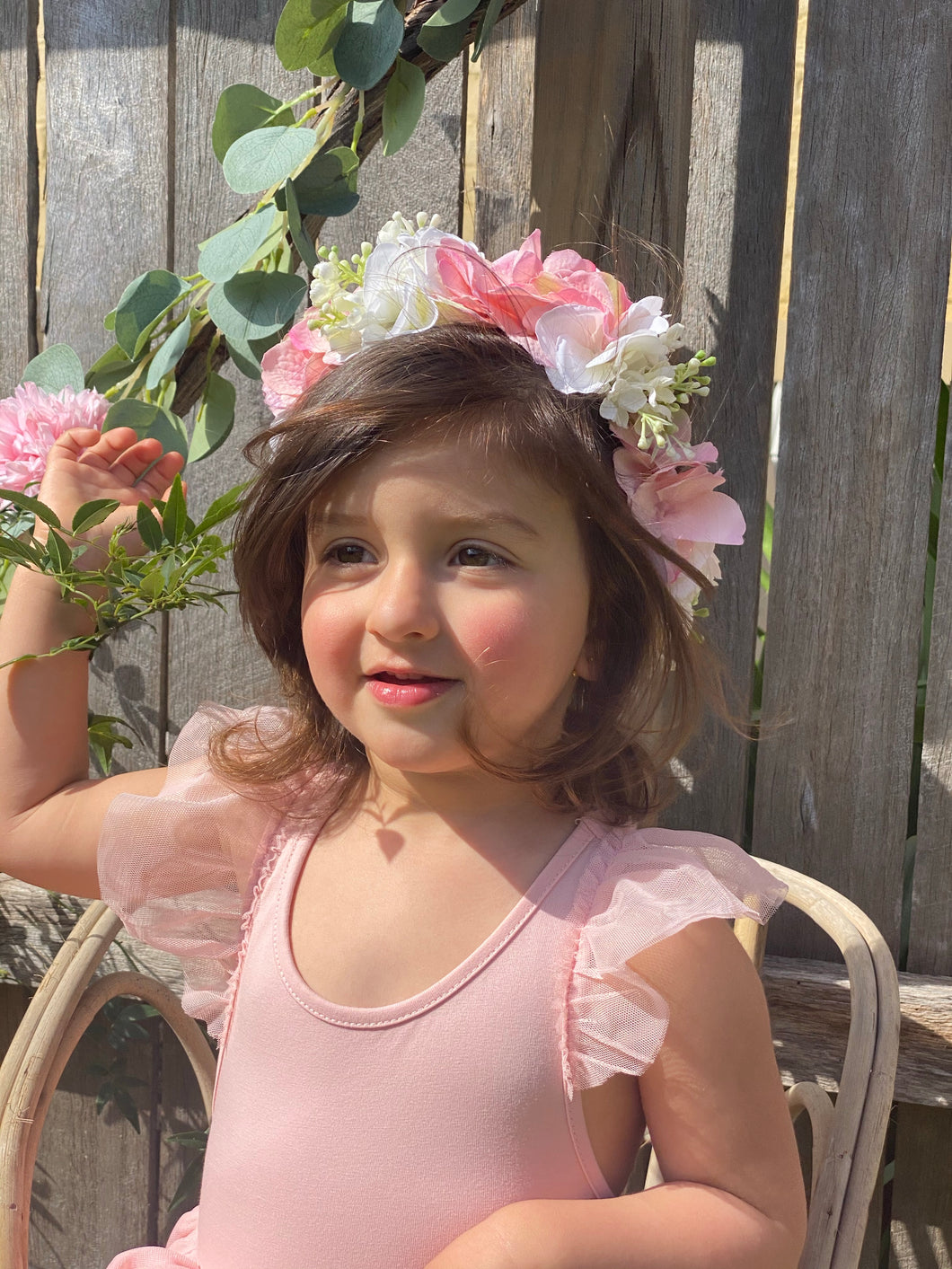 Amelie Flower Crown 38cm