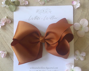 Large Harmony Bow ~Tan