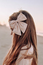 Load image into Gallery viewer, Linen Sailor Bow -Blush
