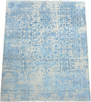 Contemporary Handmade Rug Melbourne - Erased Silk Rug