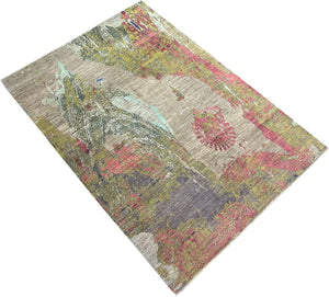 Modern Abstract Handmade Rug Melbourne