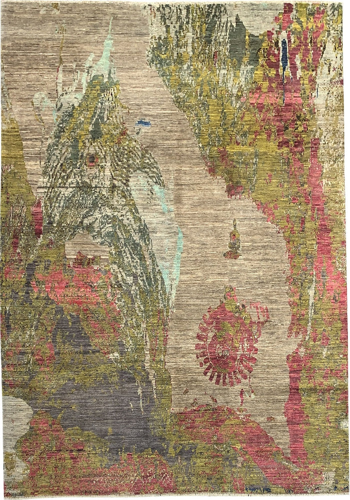 ABSTRACT RUG - HBI016 | SIZE: 295CM X 206CM