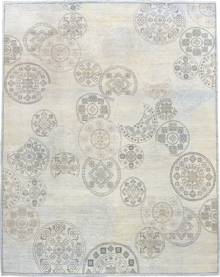 TRANSITIONAL RUG - SIZE: 305CM X 245CM
