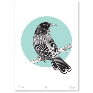 Bird Art Prints Art Print Tui Limited Edition Print