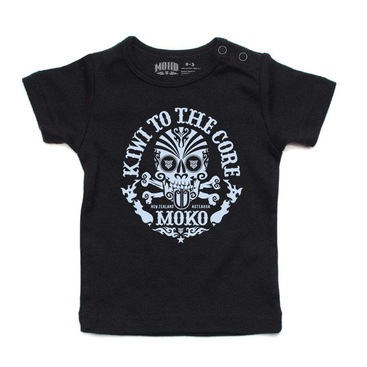 Brand: MOKO Babies Tee Shirt Kiwi to the Core BABIES TEE