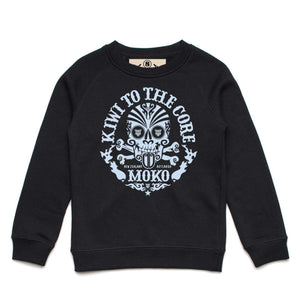 Brand: MOKO Youth Sweatshirt Kiwi to the Core Youth Sweatshirt