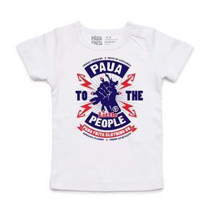 Brand: Paua Frita Babies Tee Shirt Paua to the People BABIES TEE
