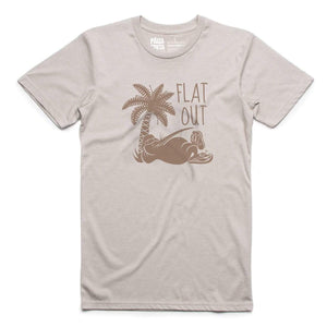 Brand: Paua Frita Tee Shirt Flat Out MENS TEE