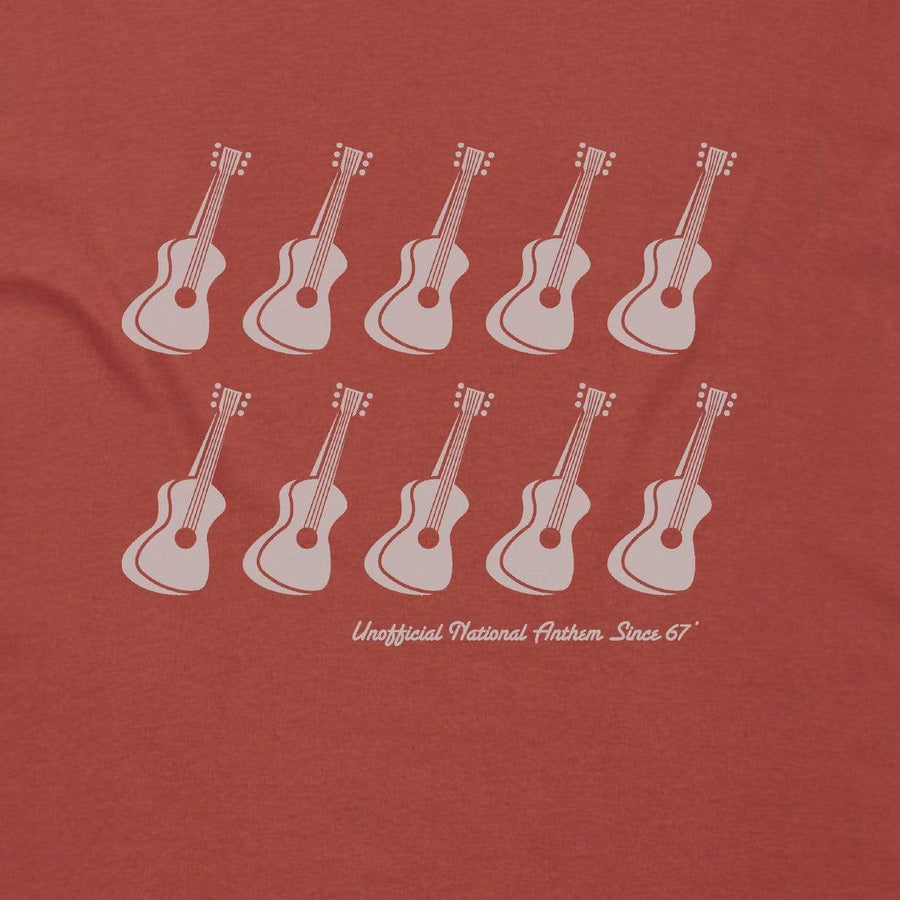 Brand: Paua Frita Tee Shirt Ten Guitars Mens Tee
