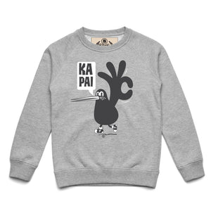 Brand: Paua Frita Youth Sweatshirt Ka Pai Youth Sweatshirt