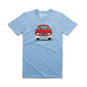 Brand: Paua Frita Youth Tee Shirt Tiki Tour YOUTH TEE
