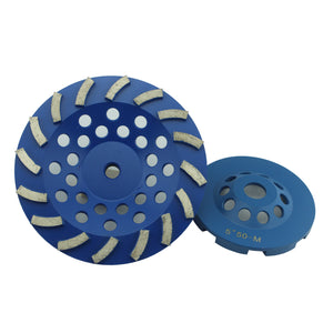 Aluminum Based Diamond Cup Grinding Wheel for Concrete