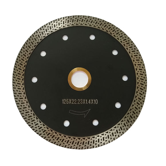 "4.5"" 5"" Flower Turbo Diamond Ceramic Tile Cutting Disc for Angle Grinder"