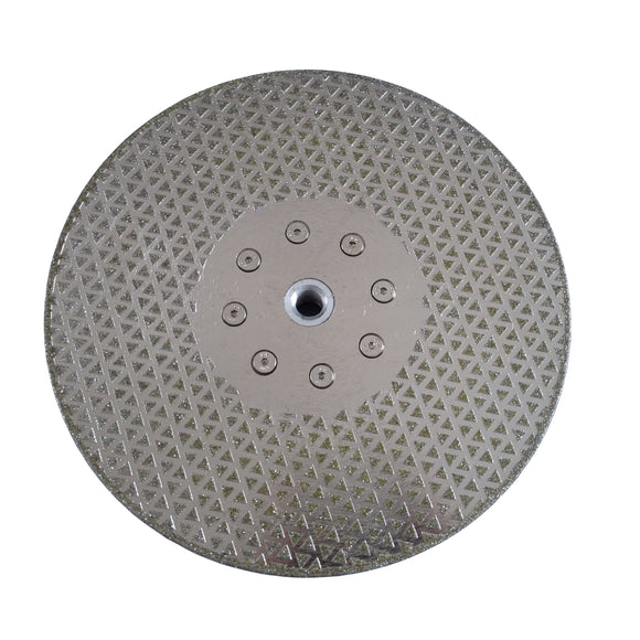 "115mm 125mm 4.5"" 5"" Electroplated Diamond Blade for Marble Concrete Terrazzo"