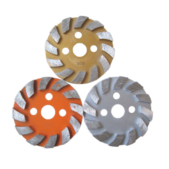 Metal Bond Segmented Diamond Floor Polishing Pad for Concrete Granite Marble