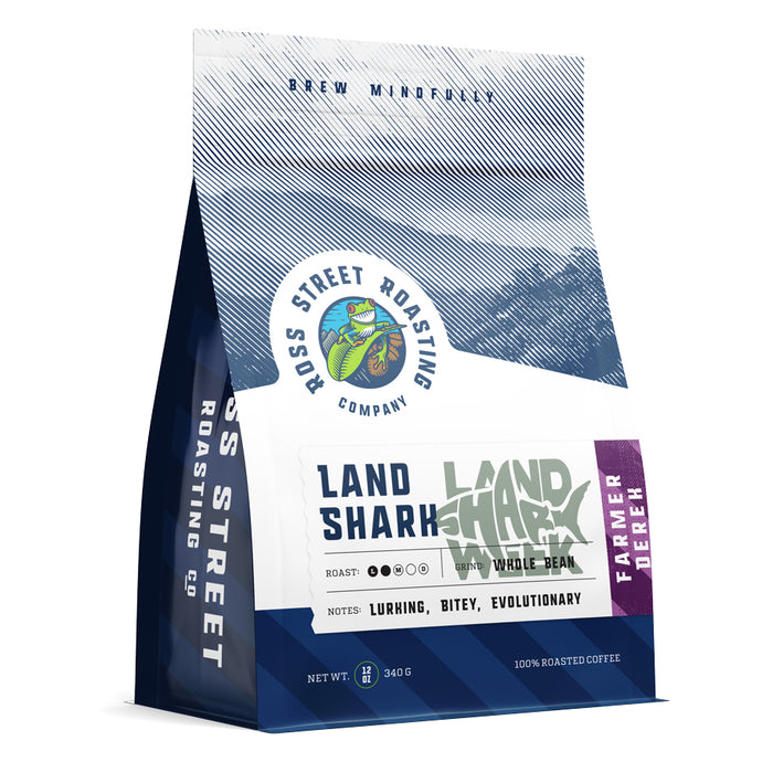 Land Shark Coffee - Lurking, Bitey, Evolutionary Light Roast