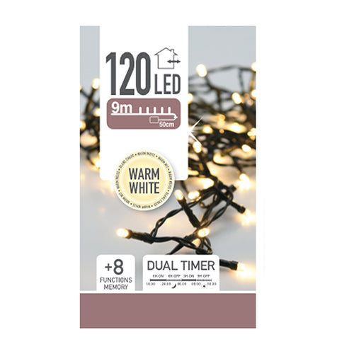 Ljusslinga 120LED Batteri