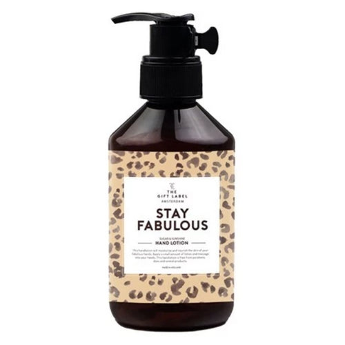 Hand Lotion | Stay fabulous 250ml