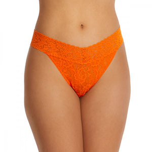 Rolled Signature Original Rise Lace Thong