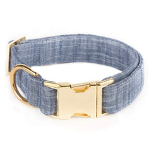 Load image into Gallery viewer, Chambray Dog Collar