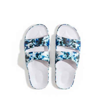 Zepplin White Moses  Sandal