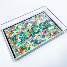 Load image into Gallery viewer, Gucci Acrylic Tray