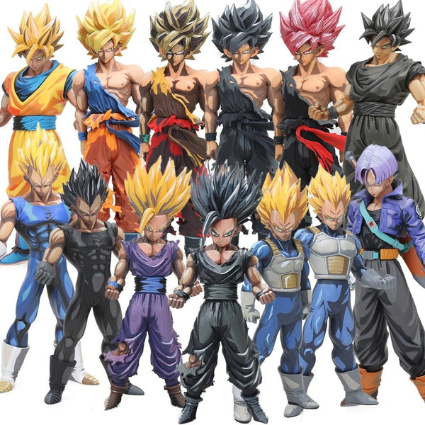 Dragon Ball Z Anime Featured Action Figure Collection