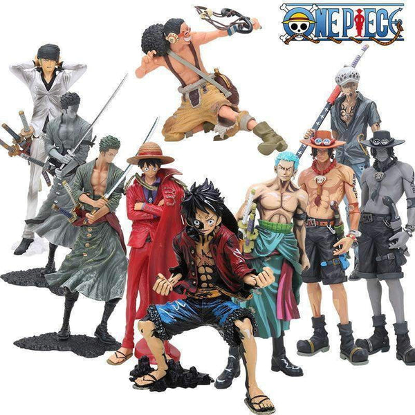 One Piece Anime Action Figure Collection
