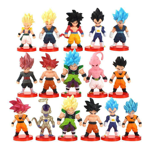 Dragon Ball Z 16PC Action Figure Set