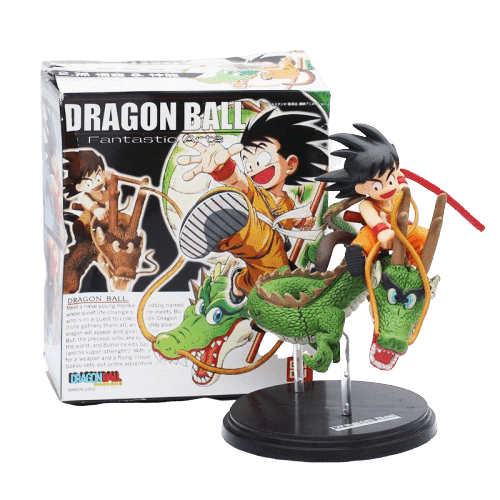 Dragon Ball Z Goku Riding Shenron Figure