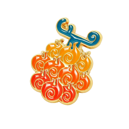 One Piece Devil Fruit Pin