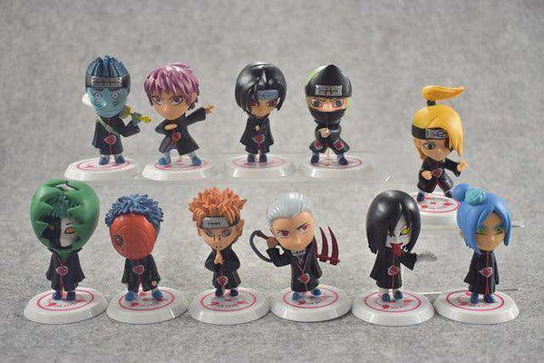 Naruto Akatsuki 11PC Figure Set