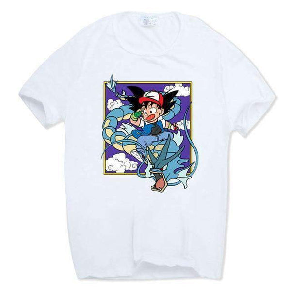 Pokemon Dragon Ball Z Collab T Shirt