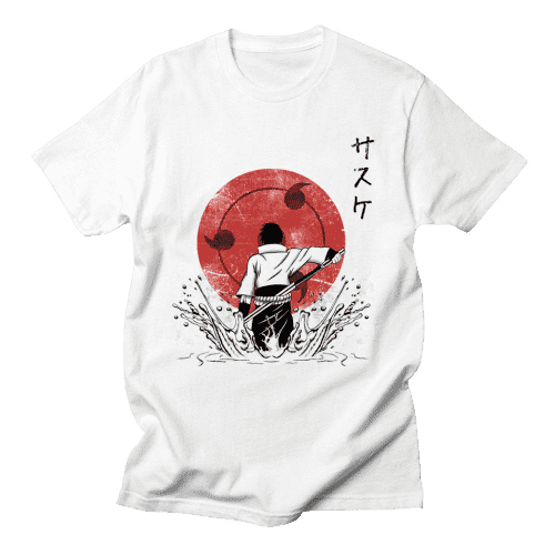 Naruto Anime Uchiha Clan T Shirt