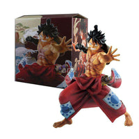 Figura de acción de One Piece Wano Luffy